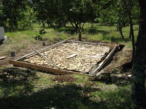 Acceuilms - Dalle beton pour abri de jardin en bois ...